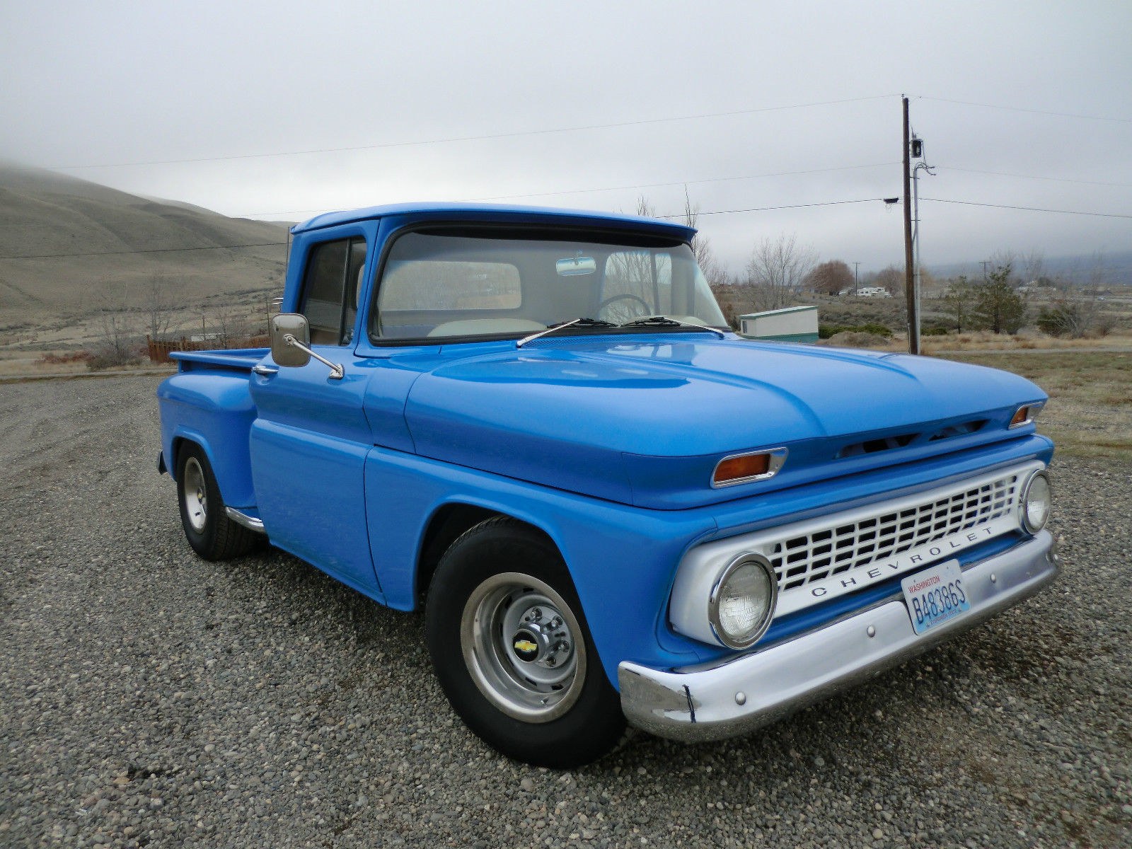 1963 Chevy C10 Restored No Reserve Short Bed Step Side C 10 350 350 Disc Pwr For Sale In West Richland Washington United States For Sale Photos Technical Specifications Description