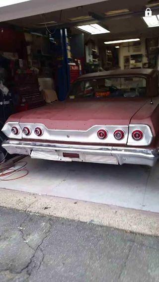 1963 Chevy Impala With 409 C I 425 Hp