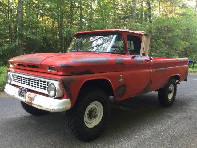 1963 chevy k20 4x4 c10 k10 pickup truck 3 4 ton 2500. Black Bedroom Furniture Sets. Home Design Ideas