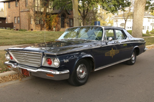 Cars For Sale In Sioux Falls Sd >> 1963 Chrysler 300 Newport - Authentic SD turner county Sherriff Cruiser for sale in Sioux Falls ...