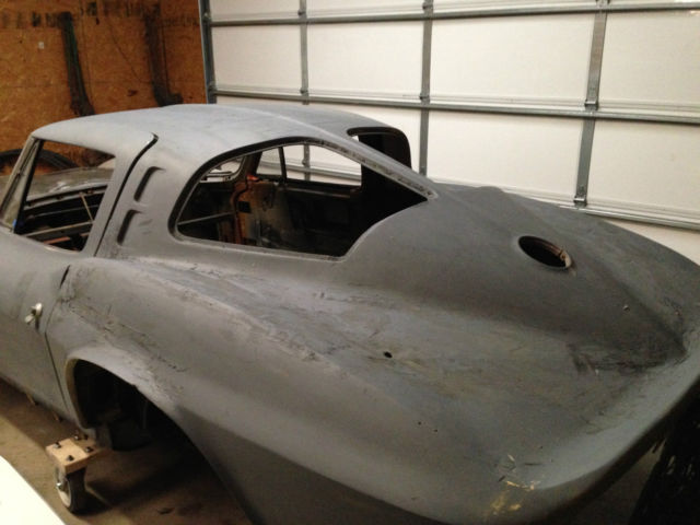 1963 corvette split window coupe project for sale in haskell oklahoma united states. Black Bedroom Furniture Sets. Home Design Ideas