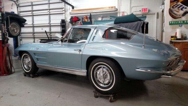1963 corvette split window coupe rare for 1963 corvette split window model car