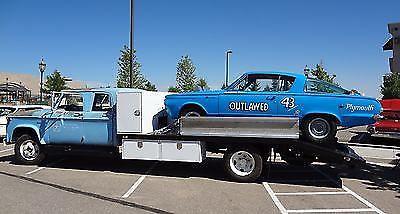 1963 Dodge Crew Cab Ramp Truck Car Hauler