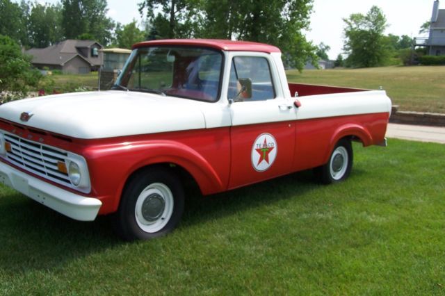 1963 Ford F 100 Pick Up Truck Unibody