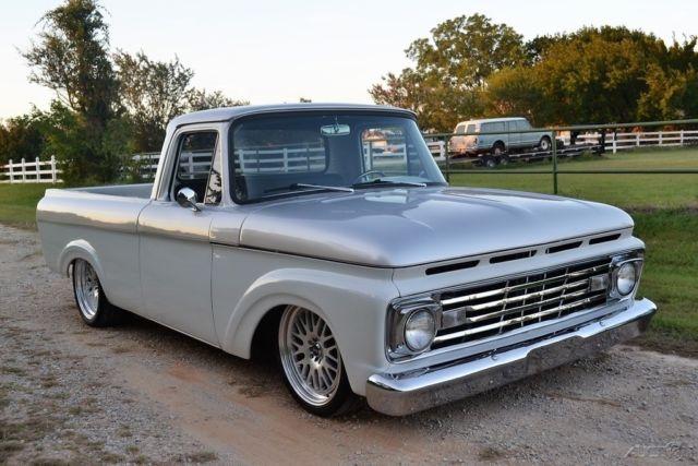 1963 ford f 100 unibody pickup truck  no reserve  custom