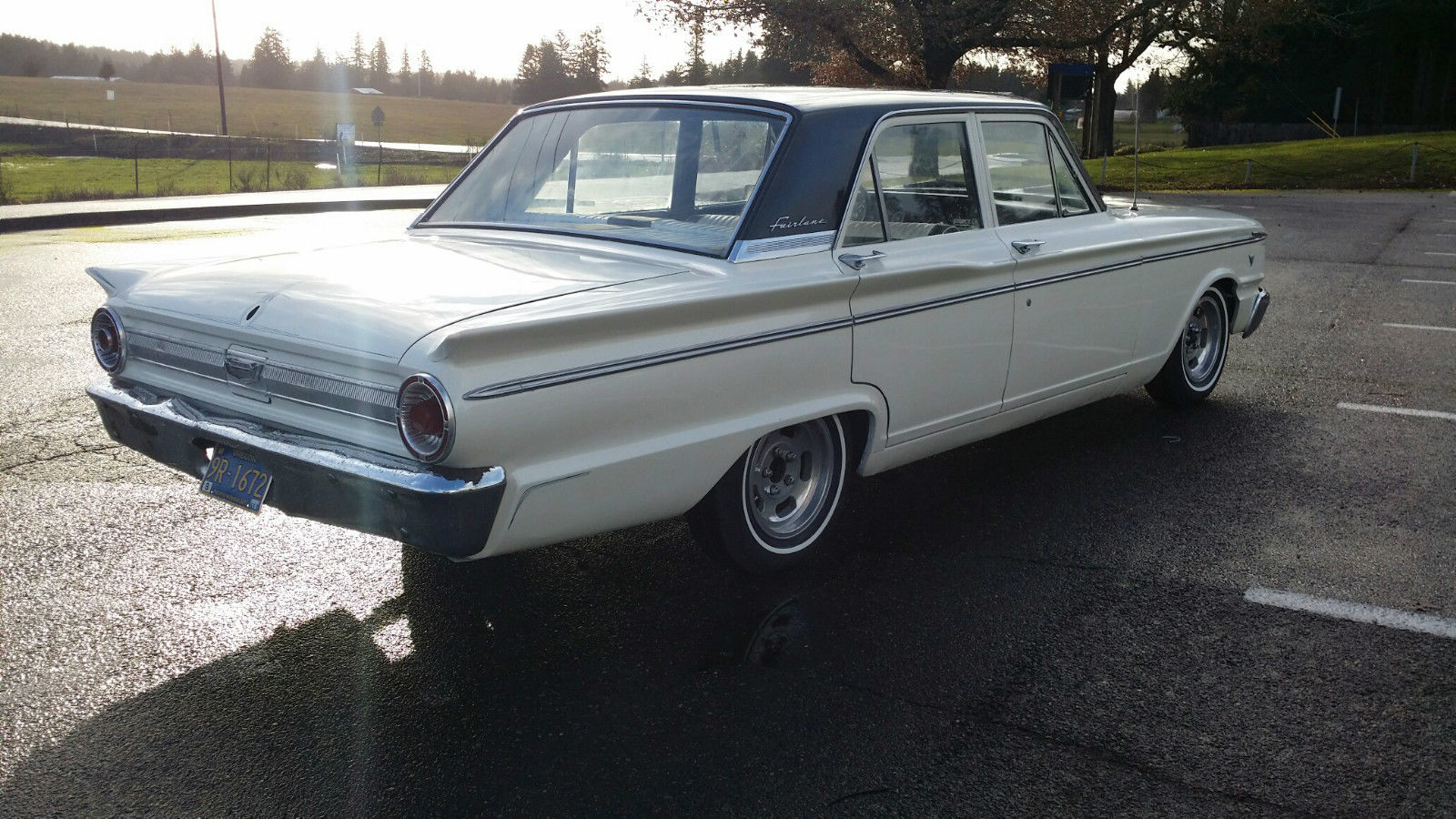 1963 Ford Fairlane Traditional Hot Rat Rod V 8 Sedan For