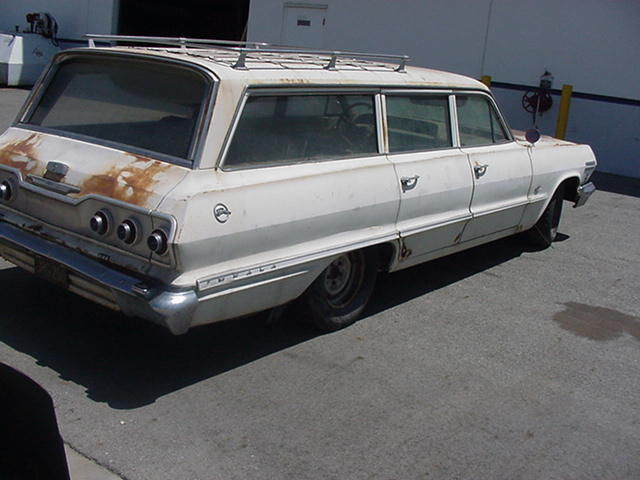 1963 Impala 9 Passenger Station Wagon For Sale In United