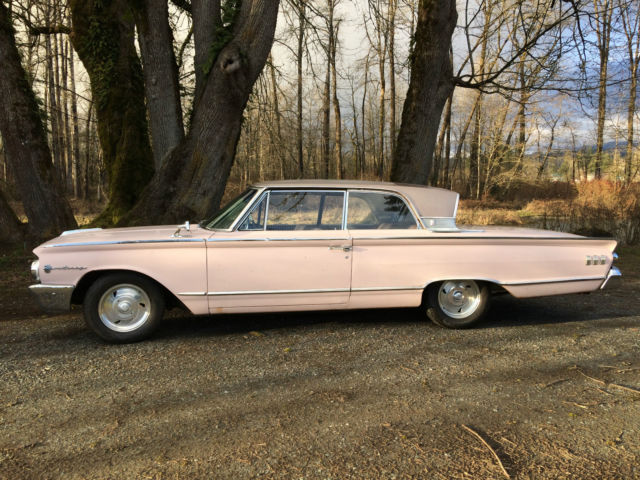 1963 Mercury Monterey Custom 64l 2d Htp Pink Lustrefrost Original One Family: 1963 Mercury Monterey Fuse Box At Freddryer.co