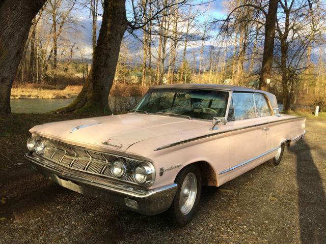1963 mercury monterey custom 6 4l 2d htp pink lustre frost for Lustre original