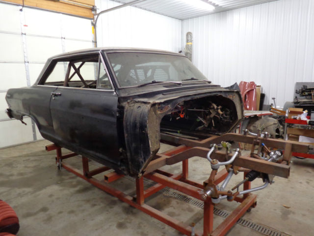 1963 NOVA SS ALSTON CHASSIS PROJECT CAR PROSTREET DRAG