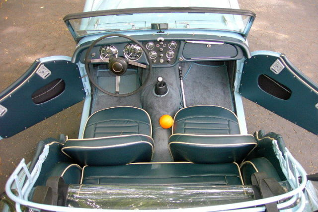 1963 Triumph TR3B Roadster - Georgia Car From New