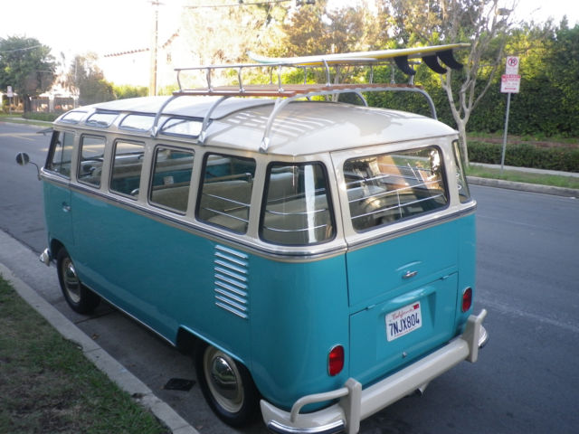 1963 vw german bus 23 window rag top for 1963 vw 23 window bus for sale
