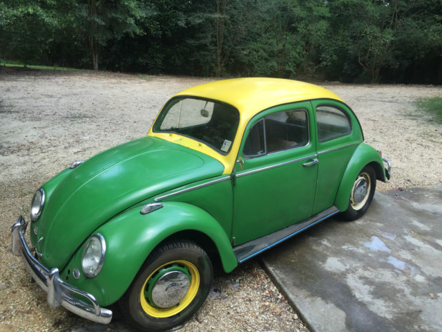 1963 VW Volkswagen Bug Beetle (Project Car) for sale in Kenner, Louisiana, United States