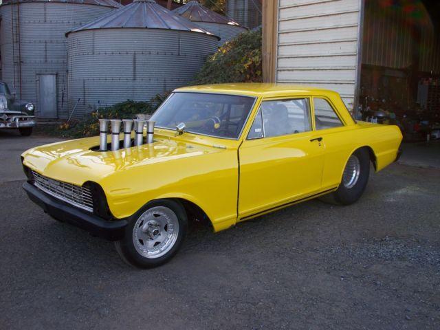 1964 Altered Wheel Base Hot Rod Drag Car Chevy Nova For