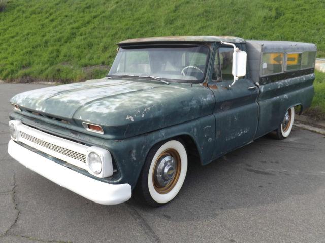 1964 C20 Pick Up Hot Rat Rod Fishing Truck Camper Sbc 327