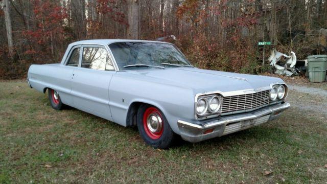 1964 Chevrolet Bel Air 2 Door Post Conversion Impala Daily