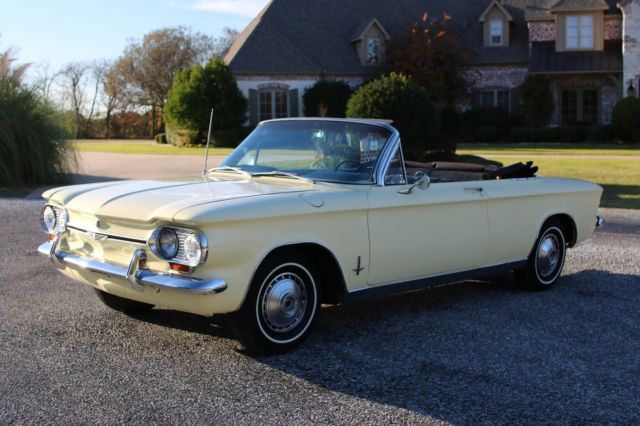 1964 Chevrolet Corvair Monza Convertible Automatic For