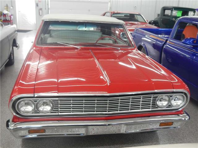 1964 CHEVROLET MALIBU Convertible 90177 Miles RED 327 5-Speed Manual