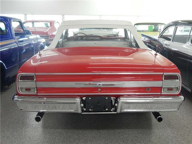 1964 CHEVROLET MALIBU Convertible 90177 Miles RED 327 5