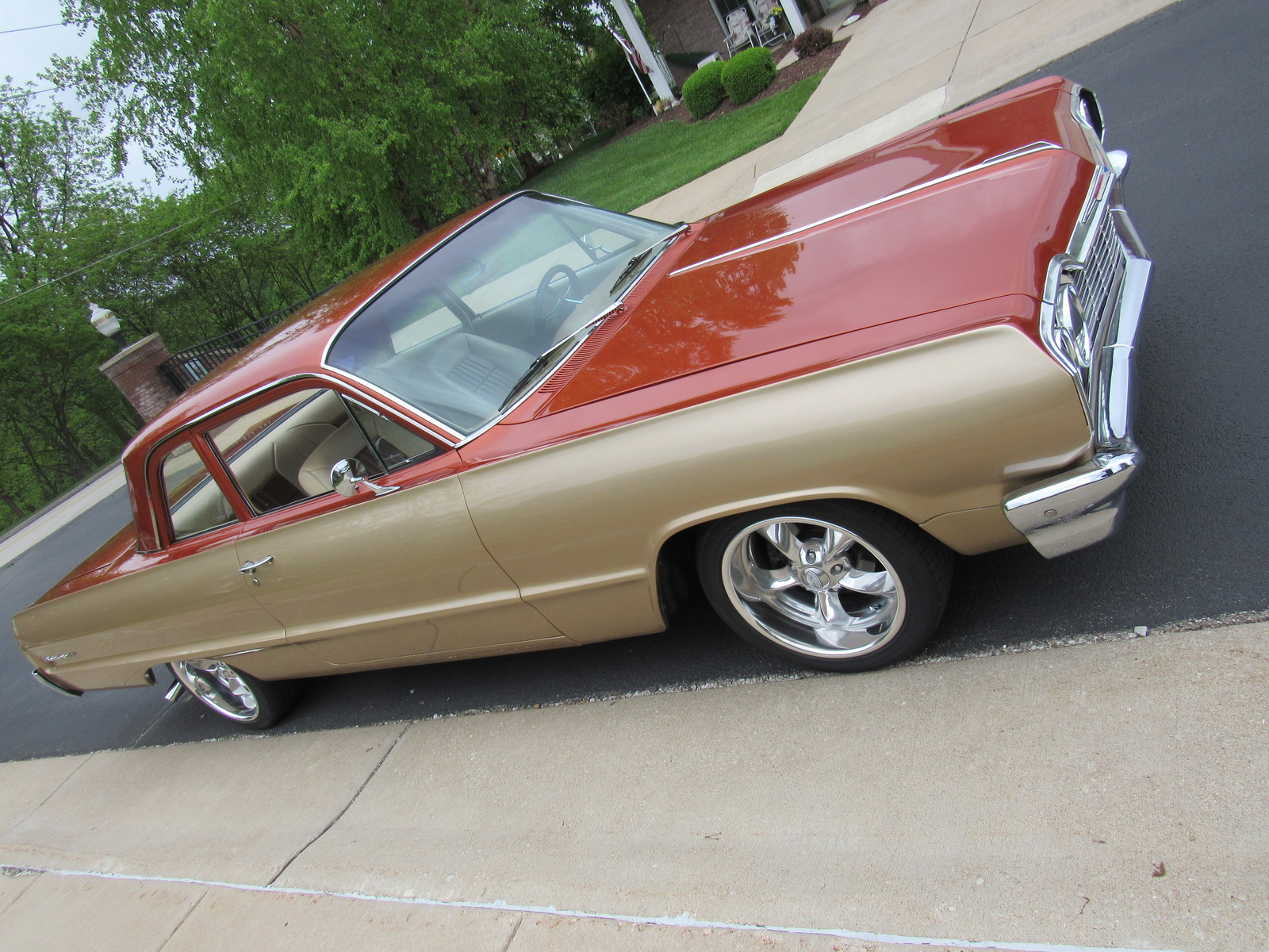 Technical specifications of chevrolet impala 1964