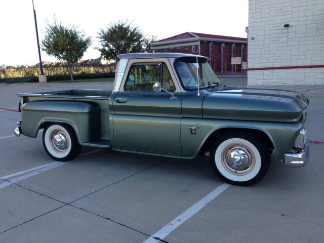 1964 Chevy C10 Stepside Big Back Window Truck- Restored ...