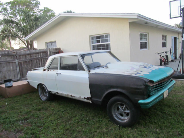 1964 Chevy II / Nova project or parts for sale in Melbourne