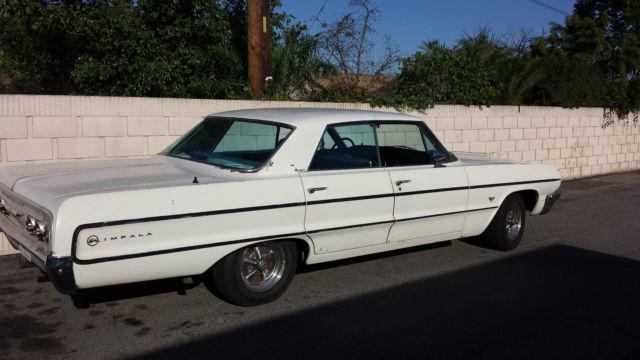 1964 Chevy Impala 4 Door Hard Top V8 California Car For