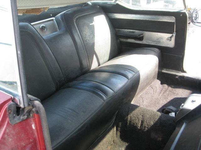 1964 chrysler 300 k letter car 413 4bl maroon black interior california car. Black Bedroom Furniture Sets. Home Design Ideas