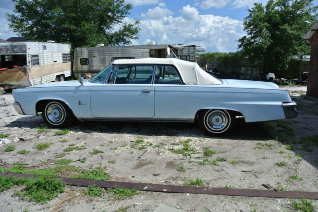 1964 Chrysler Imperial Convertible 1 Of 922 Produced For