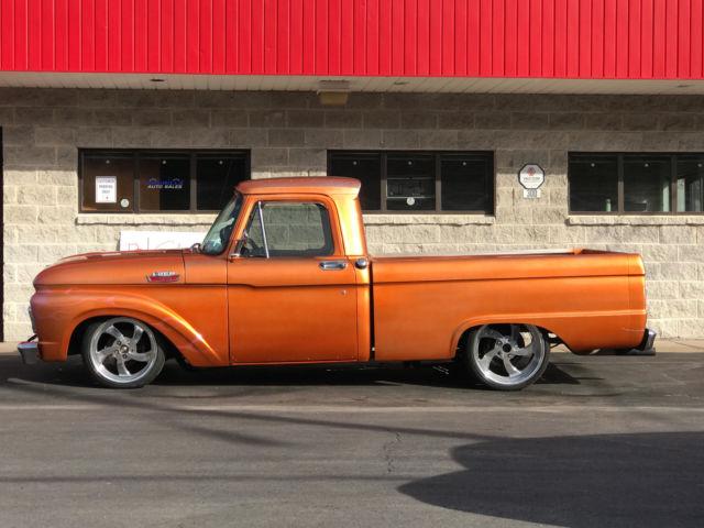 1964 ford f100 custom street rod show truck nice l k. Black Bedroom Furniture Sets. Home Design Ideas