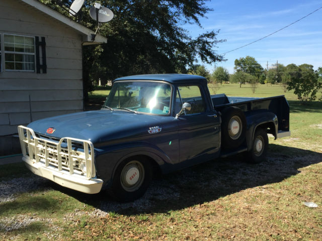 1964 ford f100 lwb stepside daily driver with cold a c for sale in newellton louisiana united. Black Bedroom Furniture Sets. Home Design Ideas