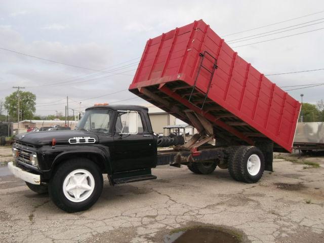 1964 ford f750 grain truck