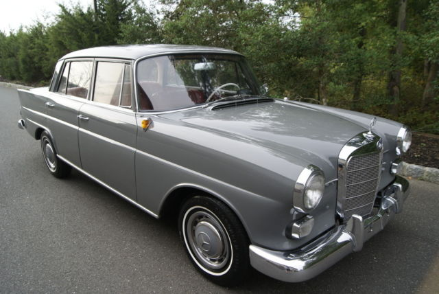 1964 mercedes benz 190d heckflosse w110 diesel very nice clean example. Black Bedroom Furniture Sets. Home Design Ideas