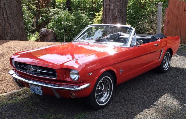1964 Mustang Red