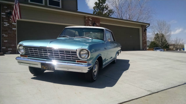 1964 Nova 2 Door Coupe Hard Top like Super Sport SS Chevy ...