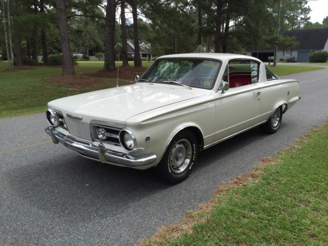 1964 Plymouth Barracuda, 6 cyl, 4-Speed, 100% Original for sale in
