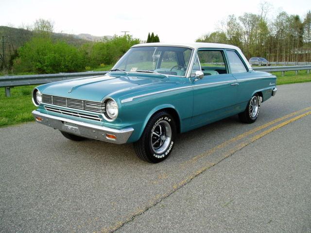 1965 amc rambler american 330 51k miles garage kept. Black Bedroom Furniture Sets. Home Design Ideas