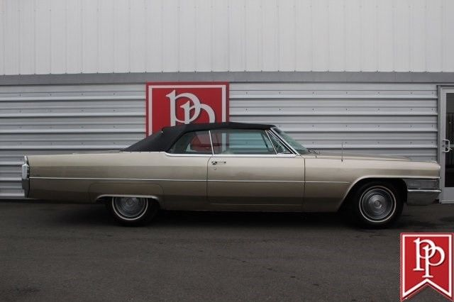 1965 Cadillac Deville Convertible, Sierra Gold on ...