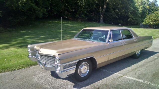 1965 cadillac sedan deville for sale in elyria ohio. Black Bedroom Furniture Sets. Home Design Ideas