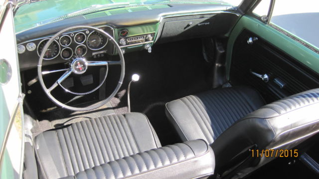 1965 Chevrolet Corvair CORSA 180HP Turbo Convertible for ...