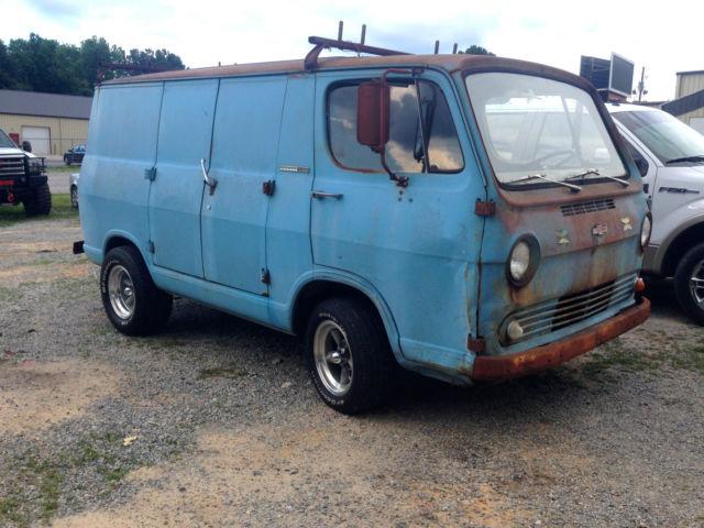 1965 Chevrolet G10 Van,One Owner, Barn Find, Patina, Rat Rod ...