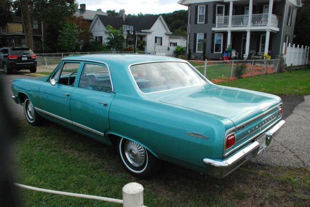1965 Chevrolet Malibu Base Sedan 4-Door 3.2L for sale in ...