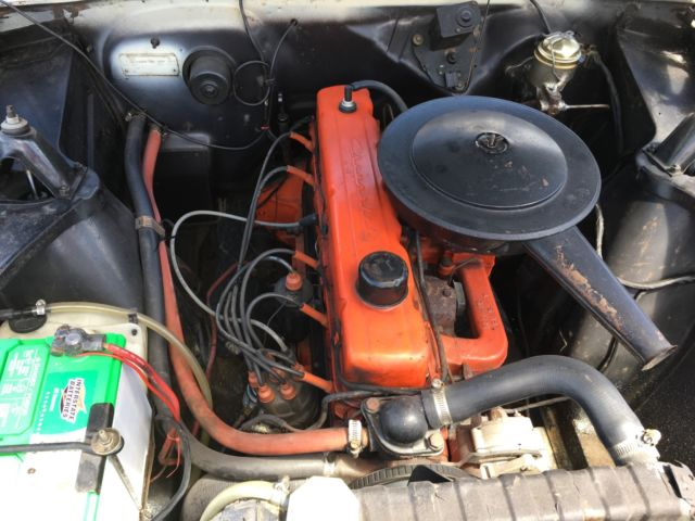 1965 Chevy Ii Nova 6 Cyl Auto Trans Same Owner For Past