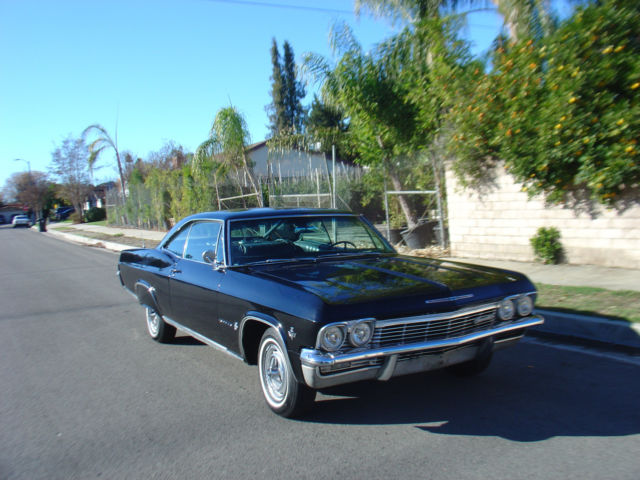 1965 Chevy Impala Coupe Black On Black 1966 1964 1953 1962 1967 For