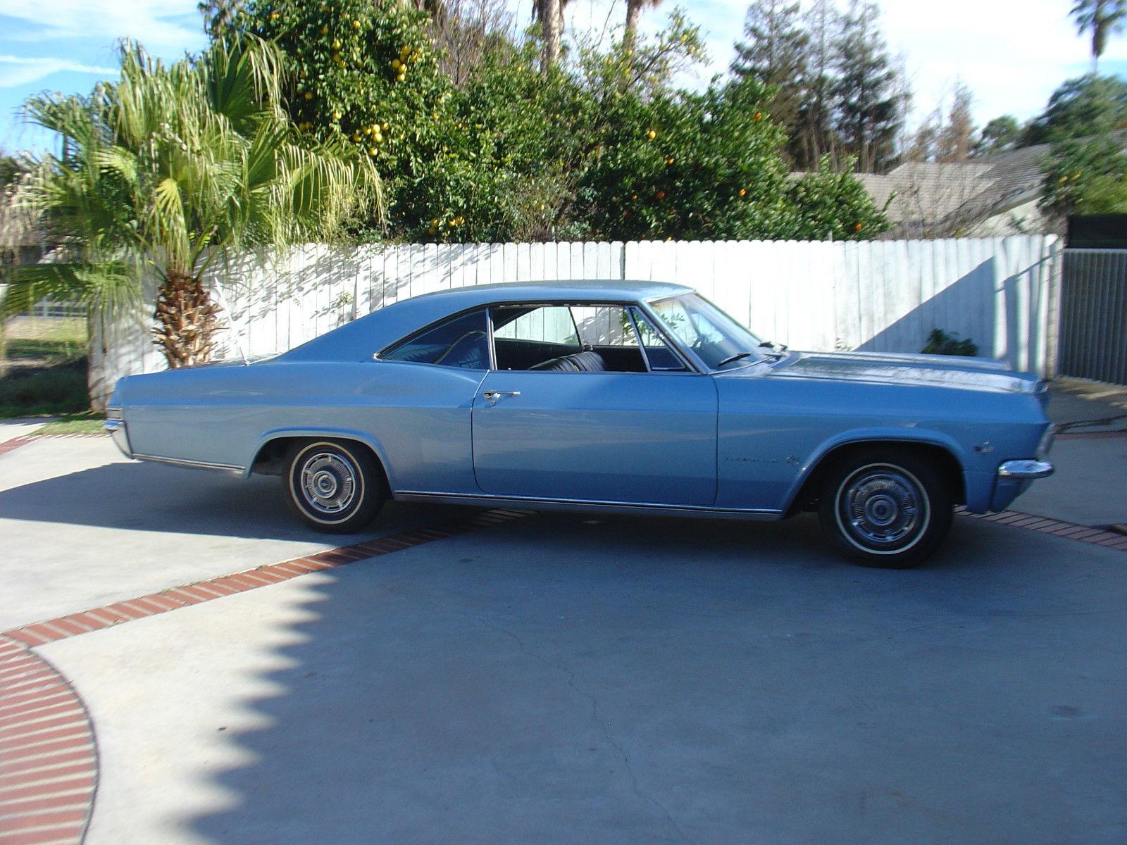 1965 Chevy Impala Fastback Coupe Black Ca Plates 1962 1963 1964 1966 2 Door 1967