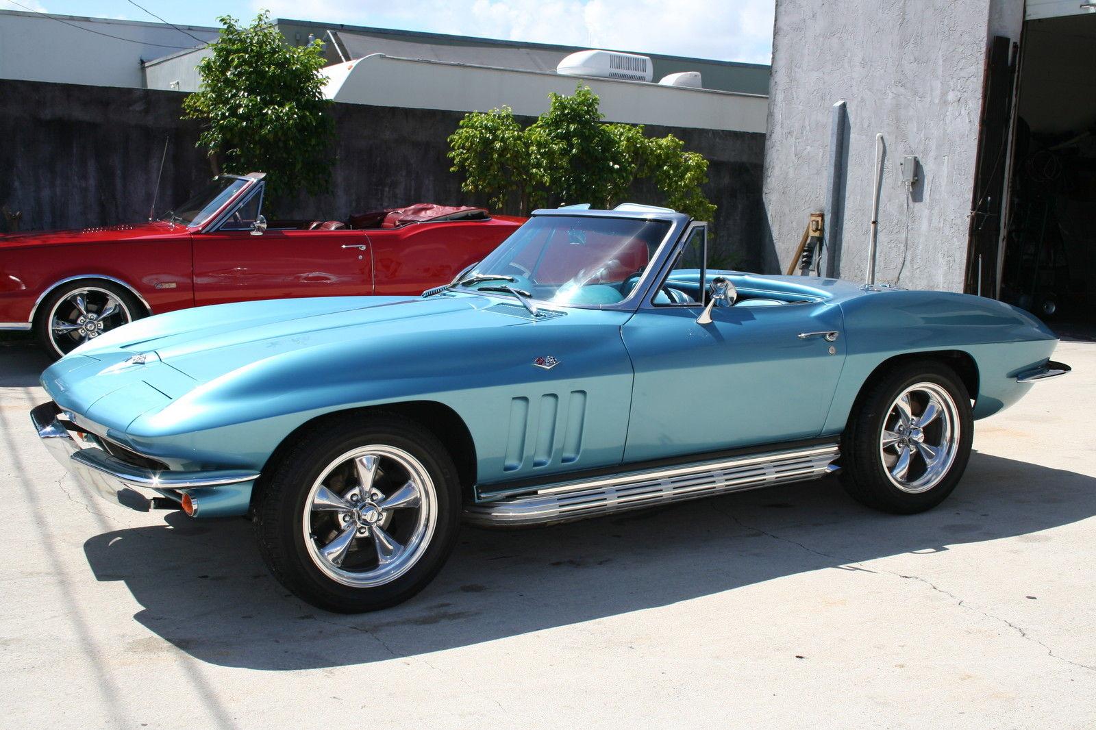 "Corvette For Sale >> 1965 Corvette Convertible 383CI Stroker Motor 4-Speed Side Exhaust 17"" Wheels for sale in Fort ..."