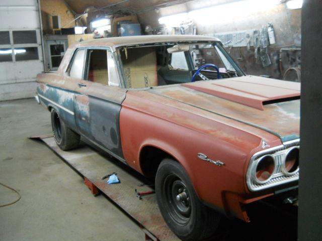 Dodge Coronet A Gasser Rat Rod on Dodge Cowl Hood