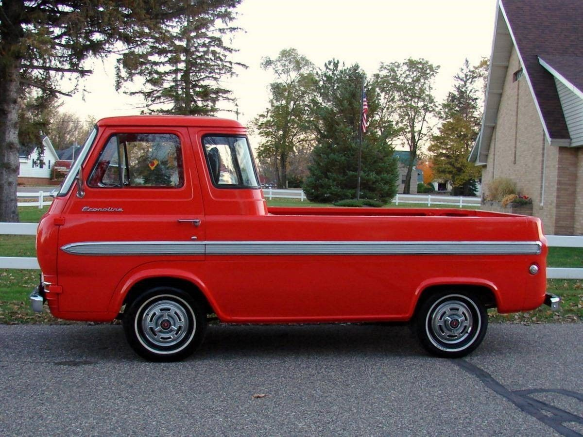 1965 ford econoline pick up truck e100 hot rod classic. Black Bedroom Furniture Sets. Home Design Ideas