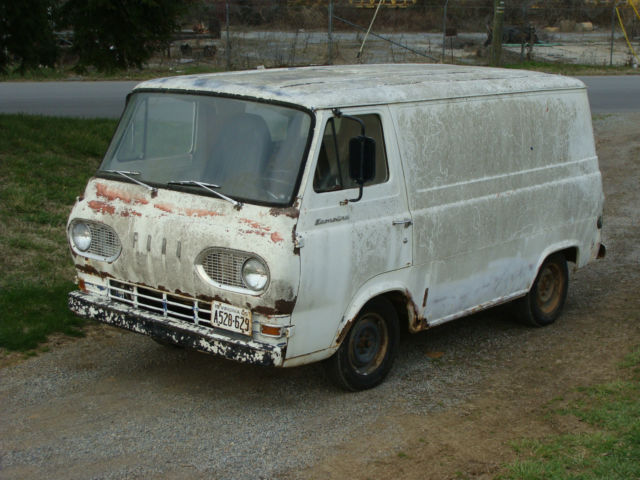 1965 Ford Econoline tricked out Hippy Van woodstock antique E-series rat rod 60s for sale in