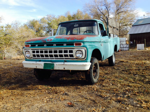 1965 ford f 100 4x4 pickup forest service for sale in tulsa oklahoma united states. Black Bedroom Furniture Sets. Home Design Ideas